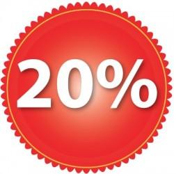 Zniżka 20 %